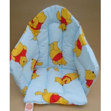 Ali Seat Cushion Cotton Light Blue with Winnie the Pooh