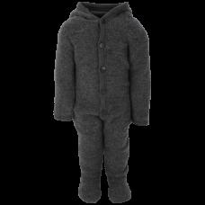 Fixoni Hush Wool Wholesuit Dk Grey Melange