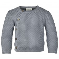 Fixoni Knit cardigan - GOTS size 50, 56 and 62 Tradewinds