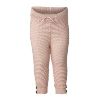 Fixoni Knit Pants - GOTS size 50, 56 and 62 Misty Rose