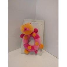 Baby Fehn Pink Rattle