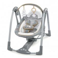Ingenuity Swing Swivel Chair, Grey