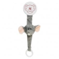 Teddykompaniet Diinglisar Pacifier Holder Elephant