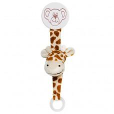 Teddykompaniet Diinglisar Pacifier Holder Giraffe