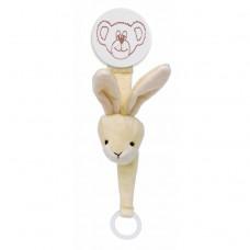 Teddykompaniet Diinglisar Pacifier Holder Bunny