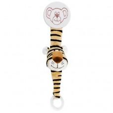 Teddykompaniet Diinglisar Pacifier Holder Tiger