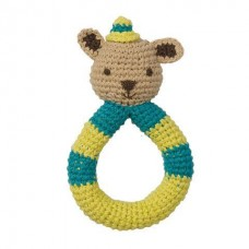 Peppa Crochet Squirrel Rattle