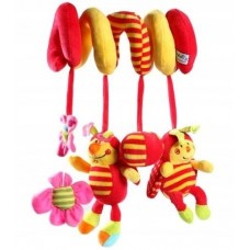 Activity Spiral Toy Ladybug
