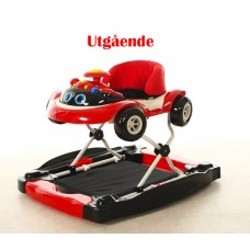 2Me Baby Walker Rasmus Black Red