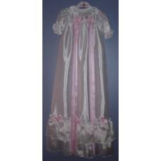 Ali Christening gown shantung