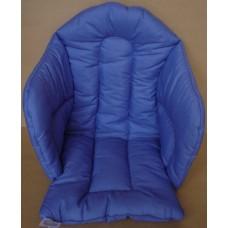 Ali seat cushion cotton solid purple