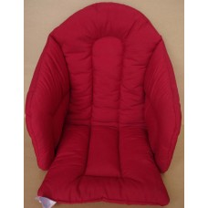 Ali Seat Cushion Cotton Solid Red