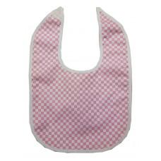 Ali Bib Pink and White Checkers