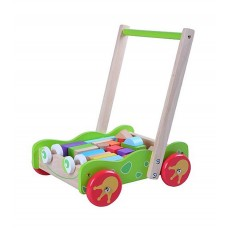 Baby walker with blocks