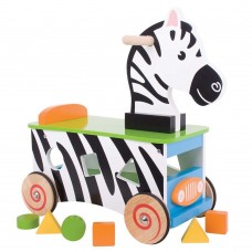 Bigjigs Ride On Zebra