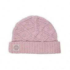 Jollein diamond knit baby hat vintage pink