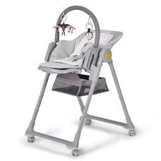 Kinderkraft LASTREE 2 in 1, Feeding/Bouncer Chair, Grey