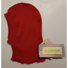 Lindberg Hood with Collar Red