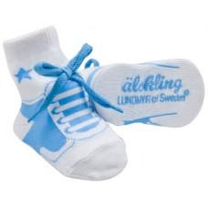Lundmyr Älskling 0-6M Blue Socks