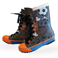 Maximo Rubber Boots with Shoelace Sport