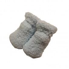 Melton Slippers Blue