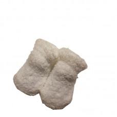 Melton Slippers White
