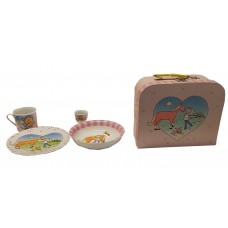 Mila Design Collector Porcelain Set with Collector Portfolio