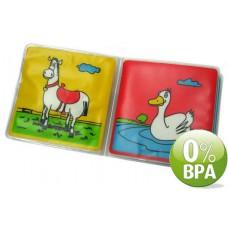 Waterproof Bath book in soft plastic