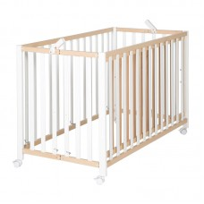 Foldable cot  Fold Up Nature/White