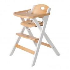 Roba Fold Up matstol i trä vit/natur