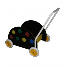 Segr Baby walker Black with dots