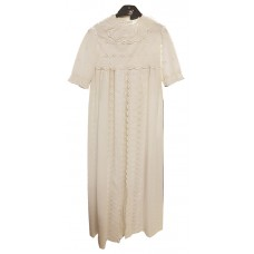 Småkläder Christening gown white embroidered