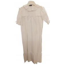 Småkläder Christening gown white stripes