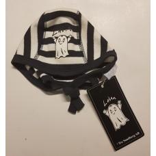 Laban hat white/blue stripes