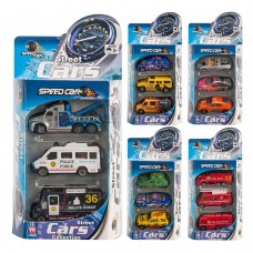 3 Toy Cars in a Box