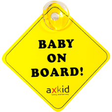 Axkid Baby on Board-sign