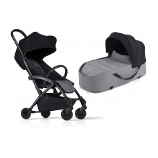 Bumprider Connect Sibling Pram Grey with Black Chassis
