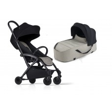 Bumprider Connect Sibling Pram Khaki with Black Chassis