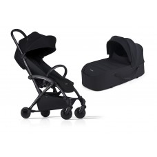 Bumprider Connect Sibling Pram Black with Black Chassis
