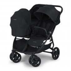 Crescent Duo Lightway Black with Carry cot
