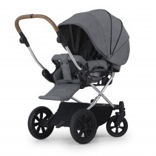 Crescent Performance Grey Melange Stroller