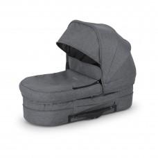 Crescent Performance Grey Melange Carry Cot