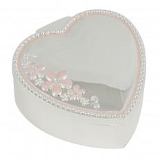 Dacapo Silver Smyckeskrin Hjärta med Blommor