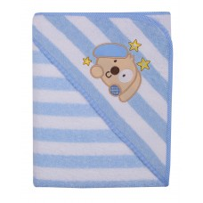 Duet Baby Bathcape Dog terrycloth 100x100 cm