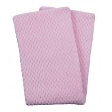 Duet Baby Filt Soft Jacquard Pink