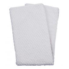 Duet Baby Filt Soft Jacquard White