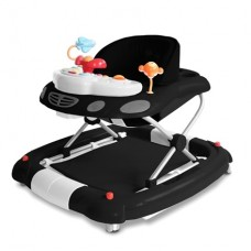 Inovi iWalk Baby Walker Black-white