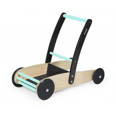Baby Walker Cart Stable Black/Turqouise