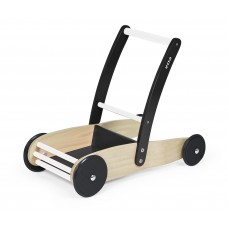 Baby Walker Cart Stable Black/White