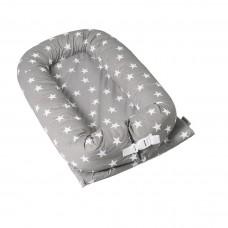 Kaxholmen Babynest Grey Star